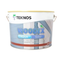 Антисептик Teknos Woodex Aqua Solid, 9 л